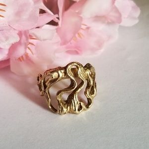 Extravagant 14k gold Vintage Ring